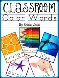 Color Word Posters And Activities {featuring real life pictures}