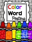 Color Word Posters