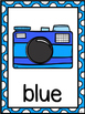 Color Word Posters -Camera
