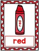 Crayon Color Word Posters