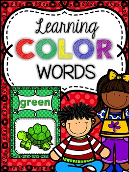 Color Word Posters With Everyday Pictures