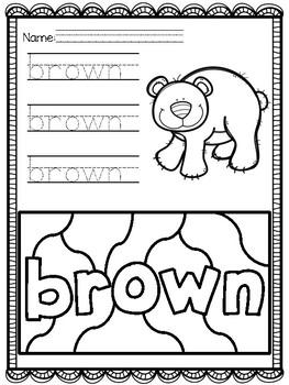 Color Word Practice