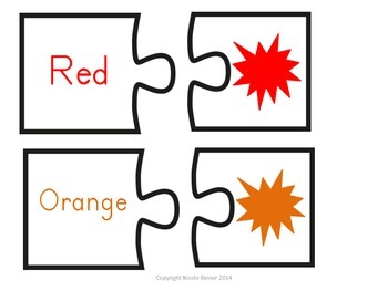 Color Word Puzzles