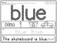 Color Word Q-tip Stamp