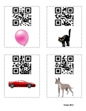 Color Word QR Codes