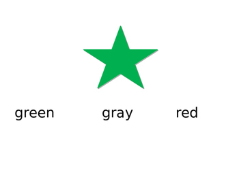 Color Word Recognition