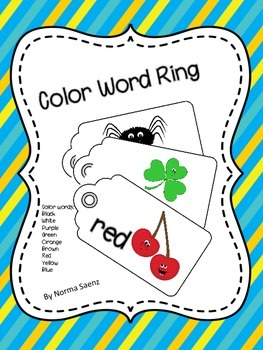Color Word Ring