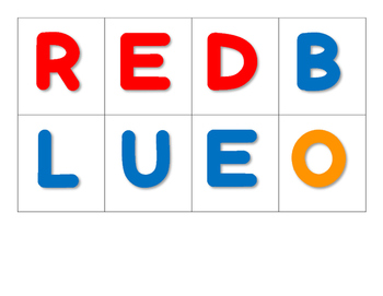 Color Word Sort
