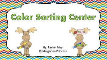 Color Word Sorting Center