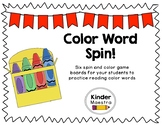 Color Word Spin!