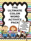 Color Word Reading Passages For Beginners with Text Evidence