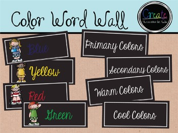 Color Word Wall