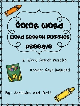 Color Word ~ Word Search