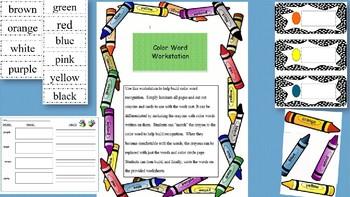 Color Word Workstation