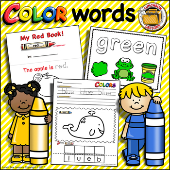 Color Words BUNDLE!