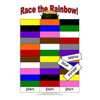 Color Words:  A Working Words Packet for Young Readers
