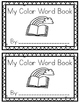 Color Words-A Painting Book!