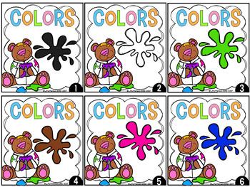 Color Words {A Write the Room Center}