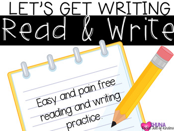 Read and Write {A Let's Get Writing Center}