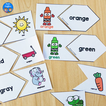 Color Words Activities and Worksheets