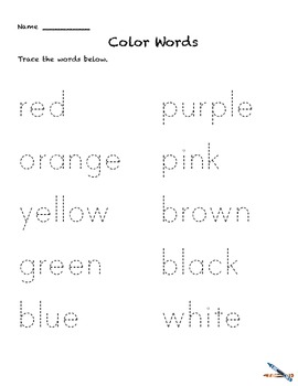 color words activities prek 1 colors worksheets learn color with ipad book. Black Bedroom Furniture Sets. Home Design Ideas