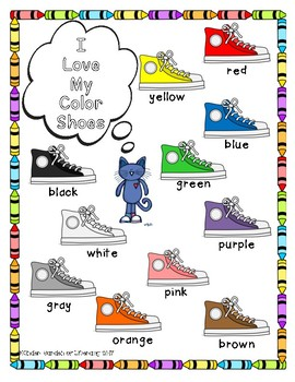 Color Words-Anchor Chart