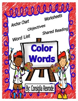 Color Words (Instructional and Independent Resources)