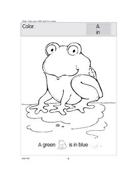 Color Words: Blue, Yellow, Red, and Green