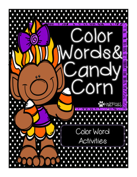 Color Words & Candy Corn