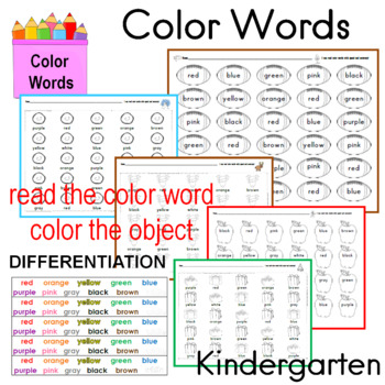 Color Words Center