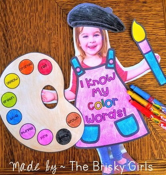 Color Words Craft