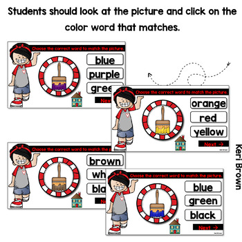 Color Words Digital Center - Click Click Go!