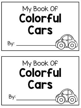 Color Words - Emergent Reader