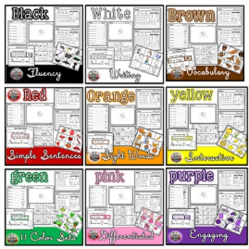 Color Words: GRAY {sight words, simple sentences, vocabulary, writing}