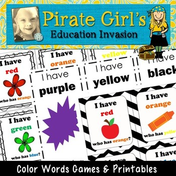 Color Words Game