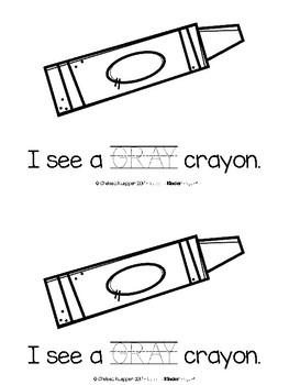 Color Words - Gray Emergent Reader