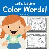 Color Words (Kindergarten, Color Word Worksheets)