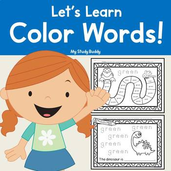 Color Words Worksheets Teaching Resources Teachers Pay Teachers
