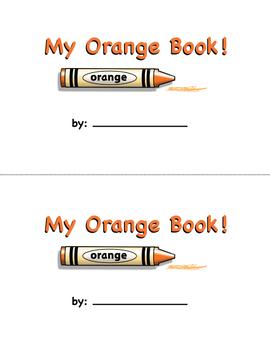 Color Words Mini Readers