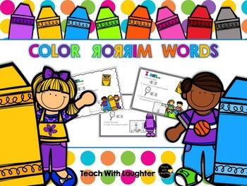 Color Words - Mirror Words