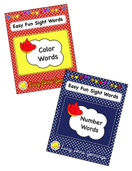 Color Words, Number Words