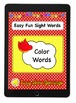 Color Words, Number Words