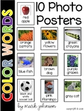 Color Words Photo Posters