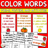 Color Words Poetry Journal