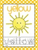 Color Words Polka Dot Poster SET