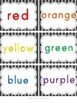 Color Words: Posters, Activities, Writing, and Flip Books