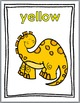 Color Words - Color Posters - Dinosaur Theme