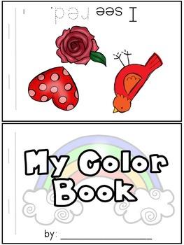 Color Words Rainbow Book