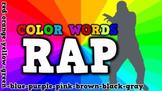 Color Words Rap (video)