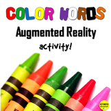 Color Words Activity with Augmented Reality